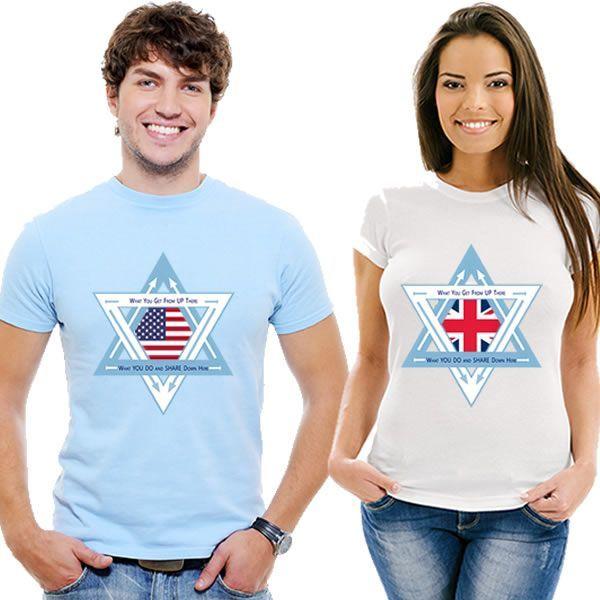 Носите Веру Носите свои убеждения с нашими футболками для мужчин, женщин и детей.