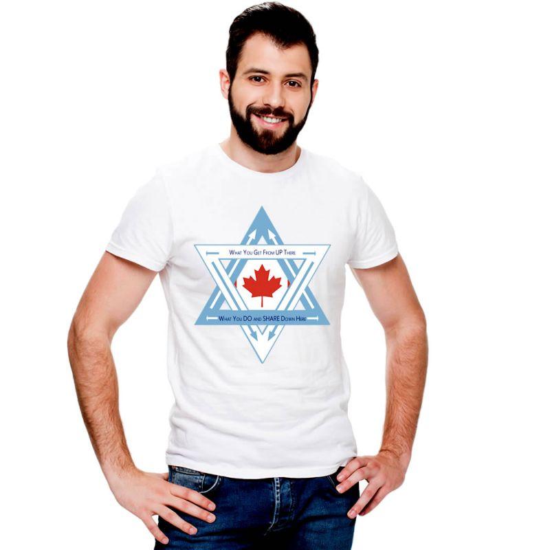 T-Shirts Flags Canada Men T-Shirt