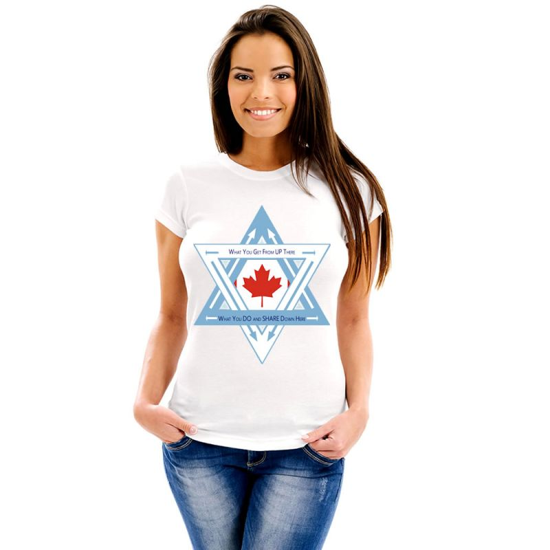 T-Shirts Flags Canada Women T-Shirt