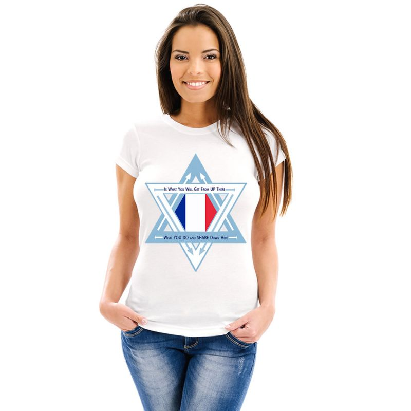 T-Shirts Flags France Women T-Shirt