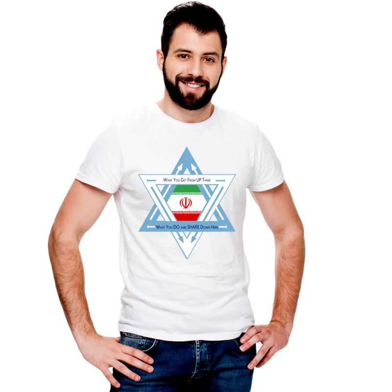 T-Shirts Flags Iran Men T-Shirt