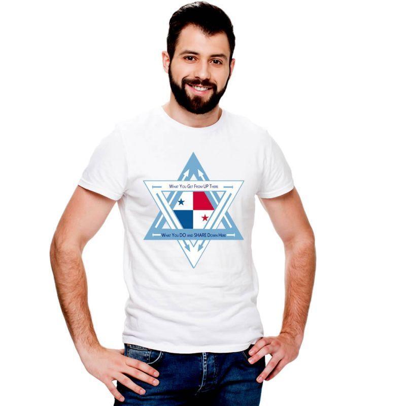 T-Shirts Flags Panama Men T-Shirt