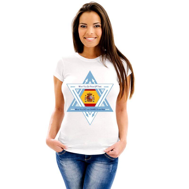 T-Shirts Flags Spain Women T-Shirt