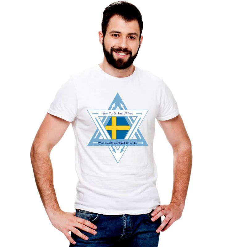 T-Shirts Flags Sweden Men T-Shirt