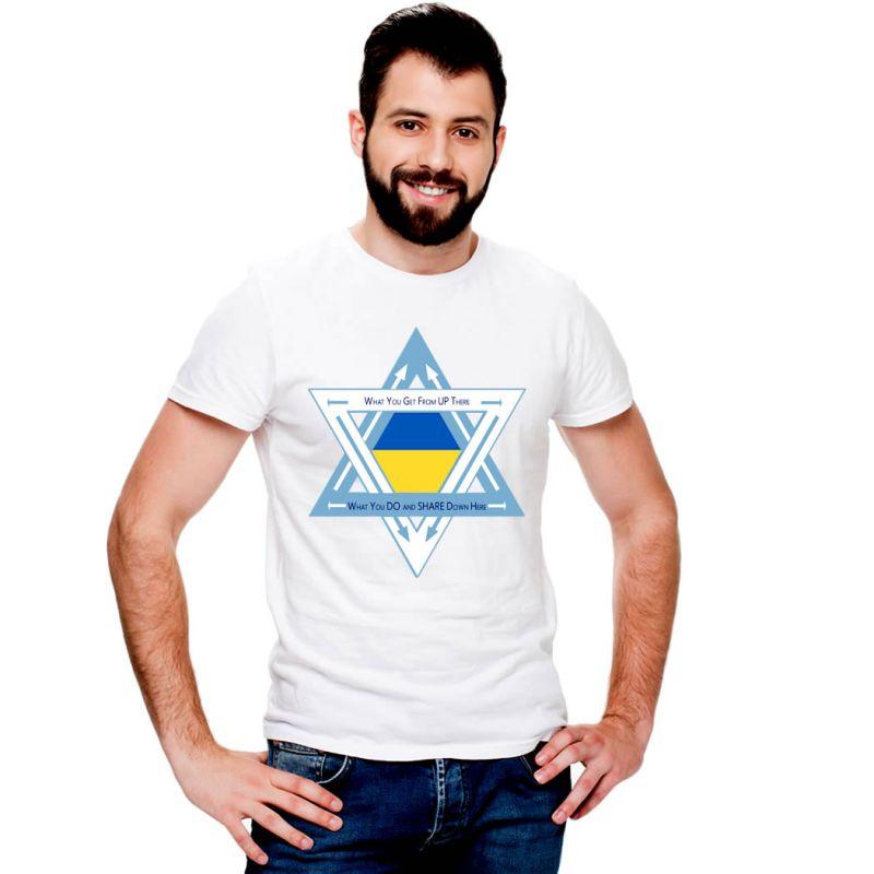 T-Shirts Flags Ukraine Men T-Shirt